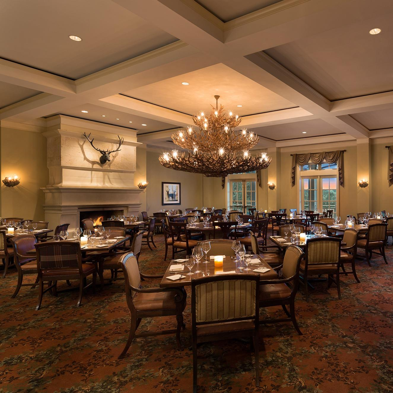 Restaurant in TX San Antonio 78251 Antler's Lodge Restaurant 9800 Hyatt Resort Drive  (210)520-4001