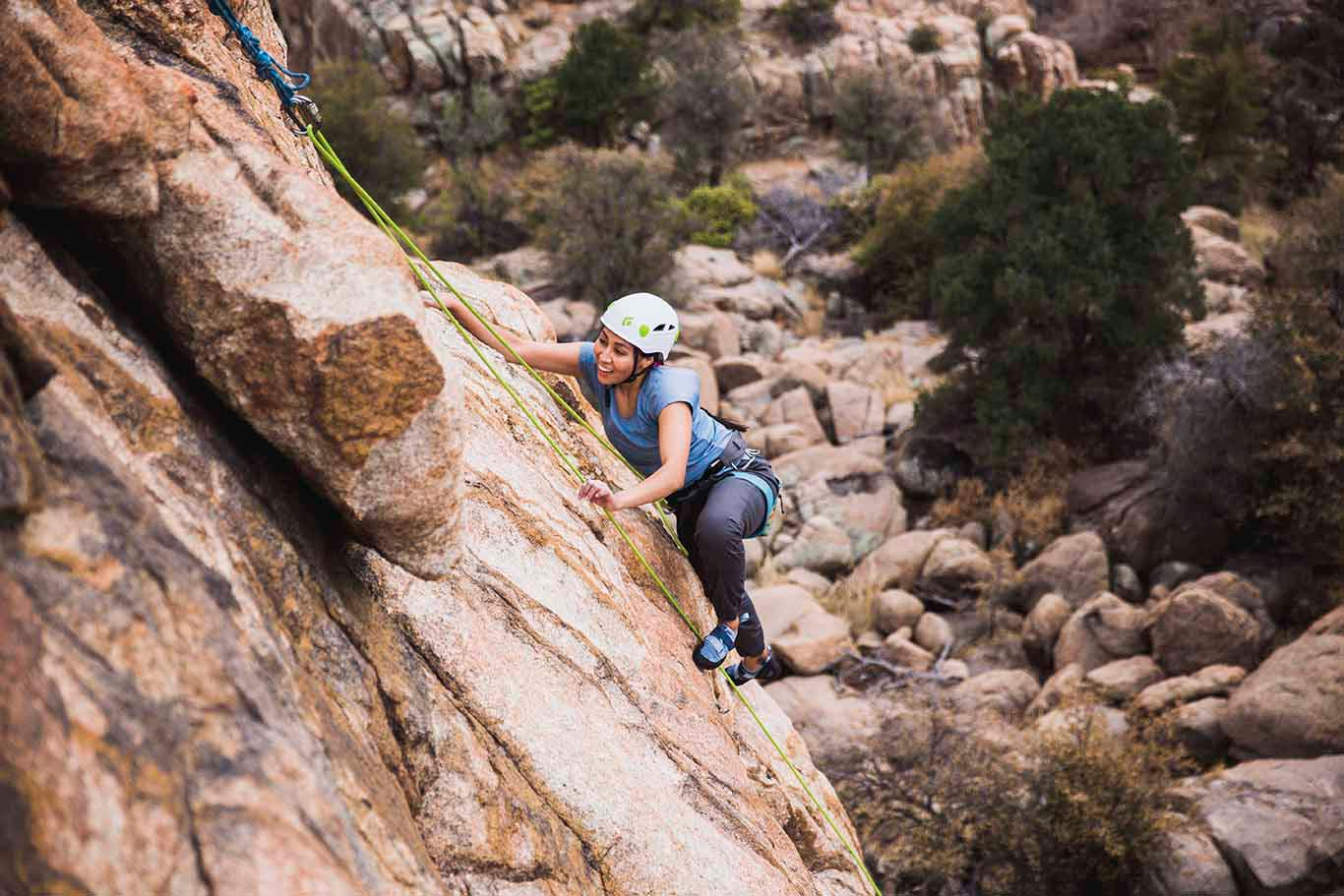 Women's Introduction to Outdoor Rock Climbing