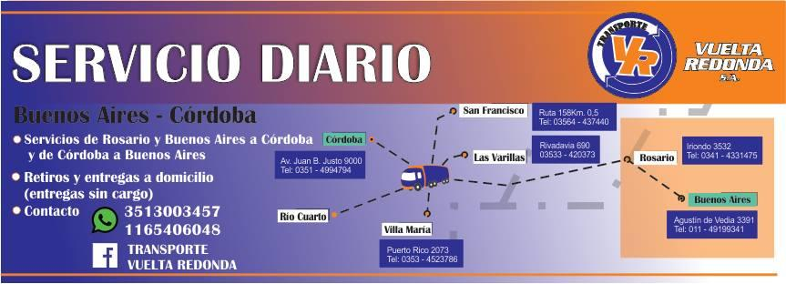 TRANSPORTE VUELTA REDONDA SA