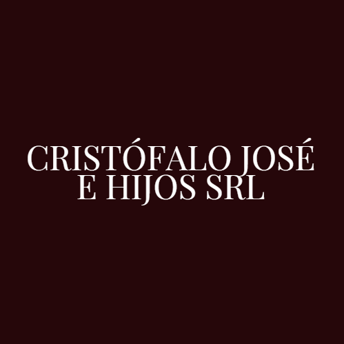 CRISTOFALO JOSE E HIJOS SRL