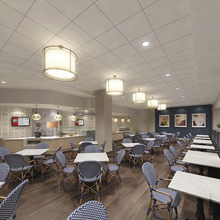 The bistro at The Barclay at Southpark