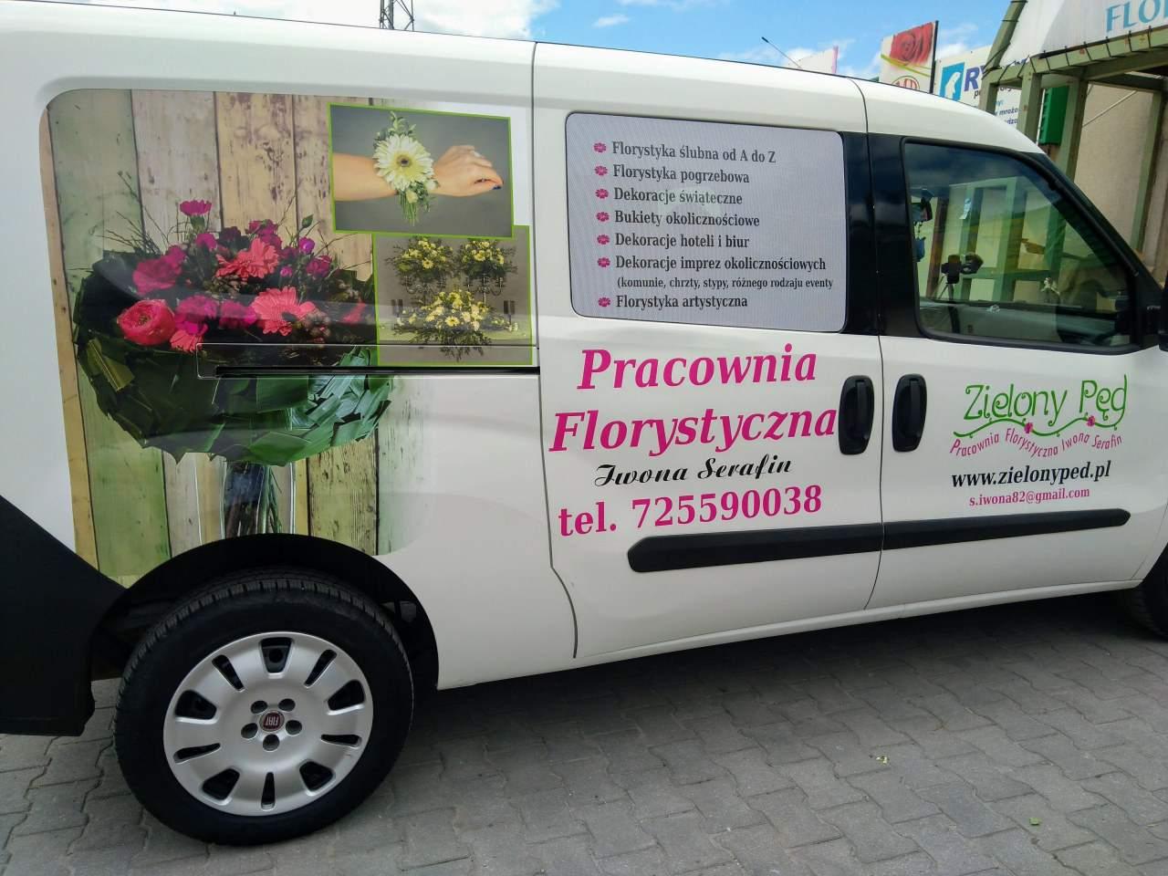 """""""Zielony Pęd"""" Pracownia Florystyczna, Dekoracje Ślubne"""