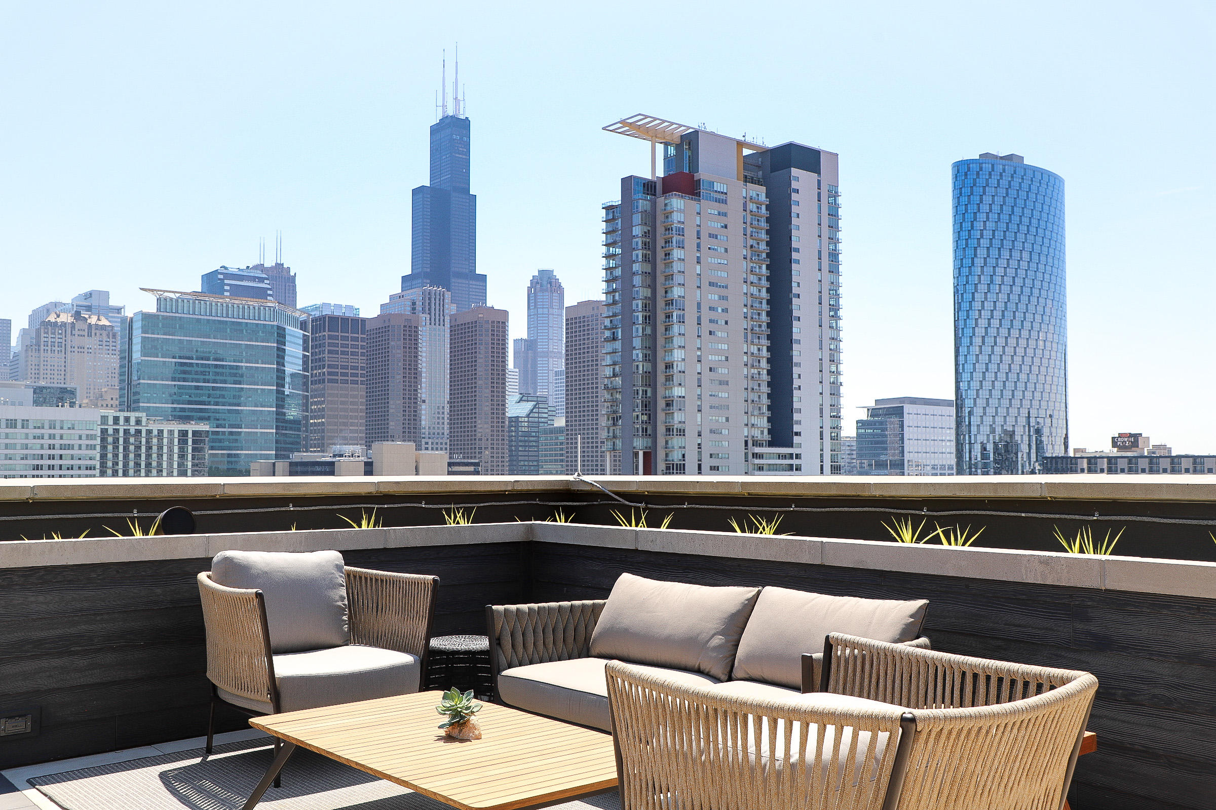 Rooftop at Nobu Hotel Chicago