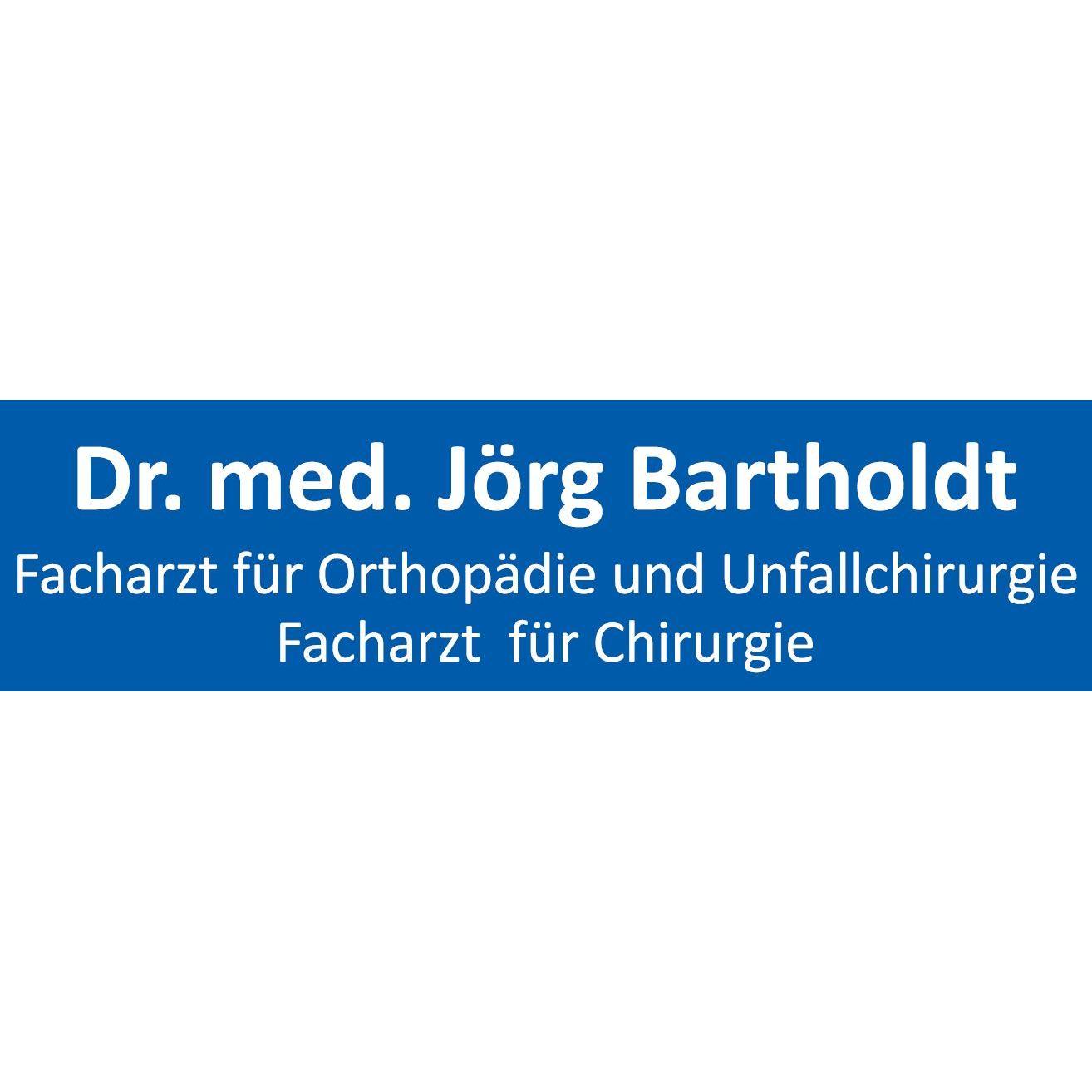 Facharzt für Orthopädie und Unfallchirurgie Dr. med. Jörg Bartholdt