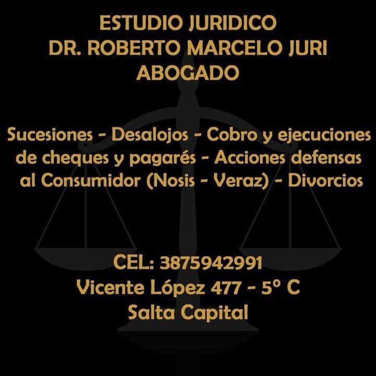 ABOGADO LABORALISTA DR ROBERTO MARCELO JURI