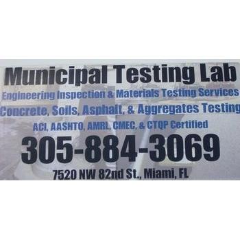 Municipal Testing Lab.