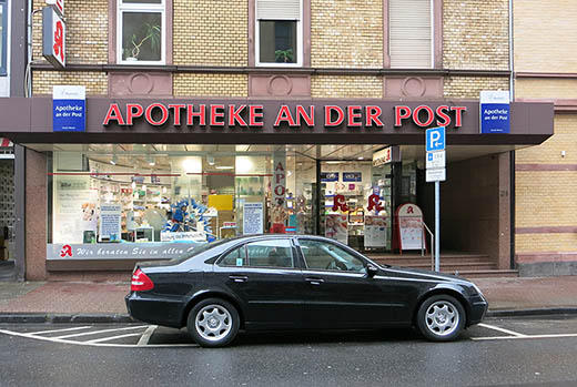 Apotheke an der Post Frankfurt