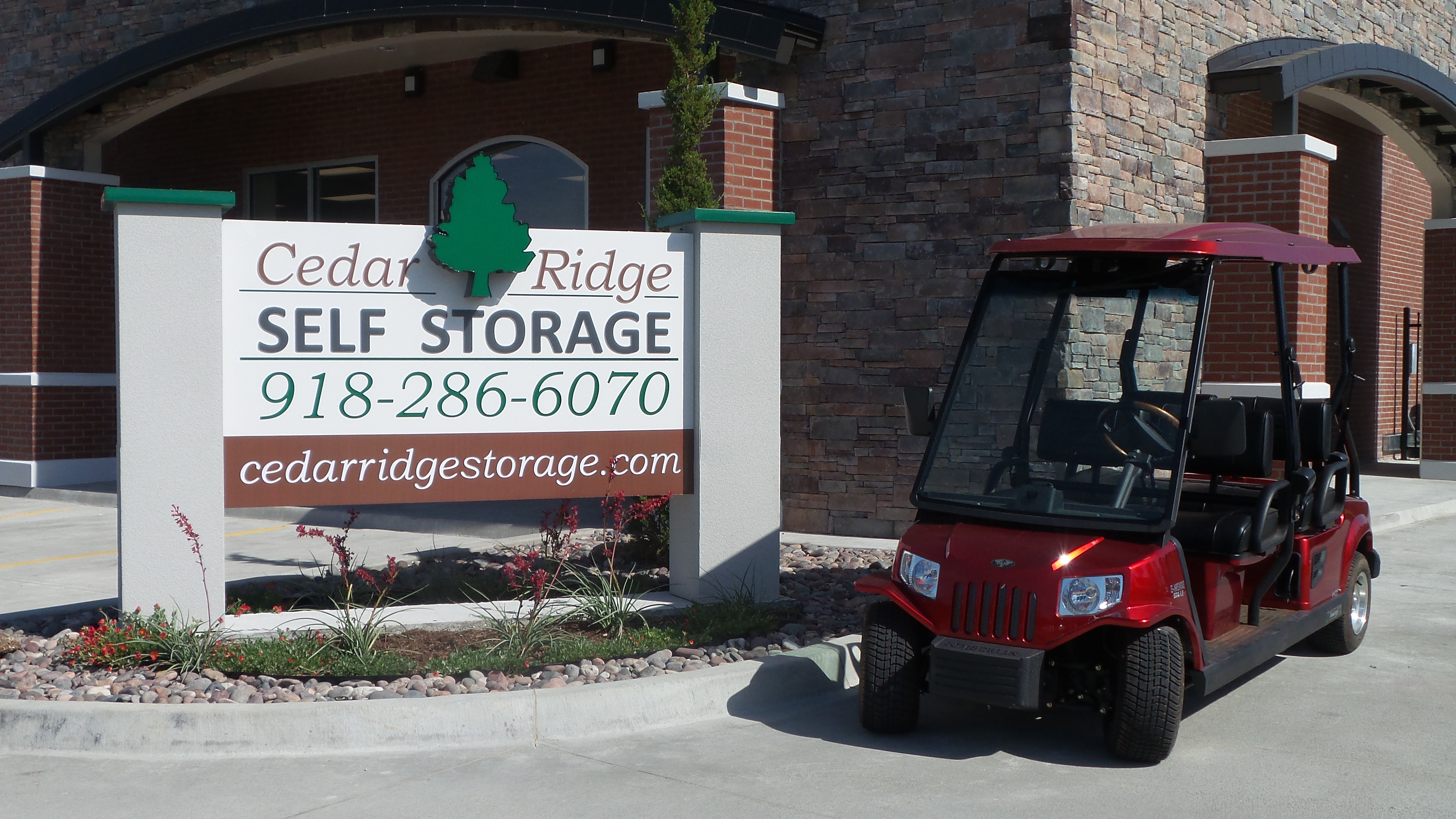 cedar ridge self storage in tulsa ok 74133