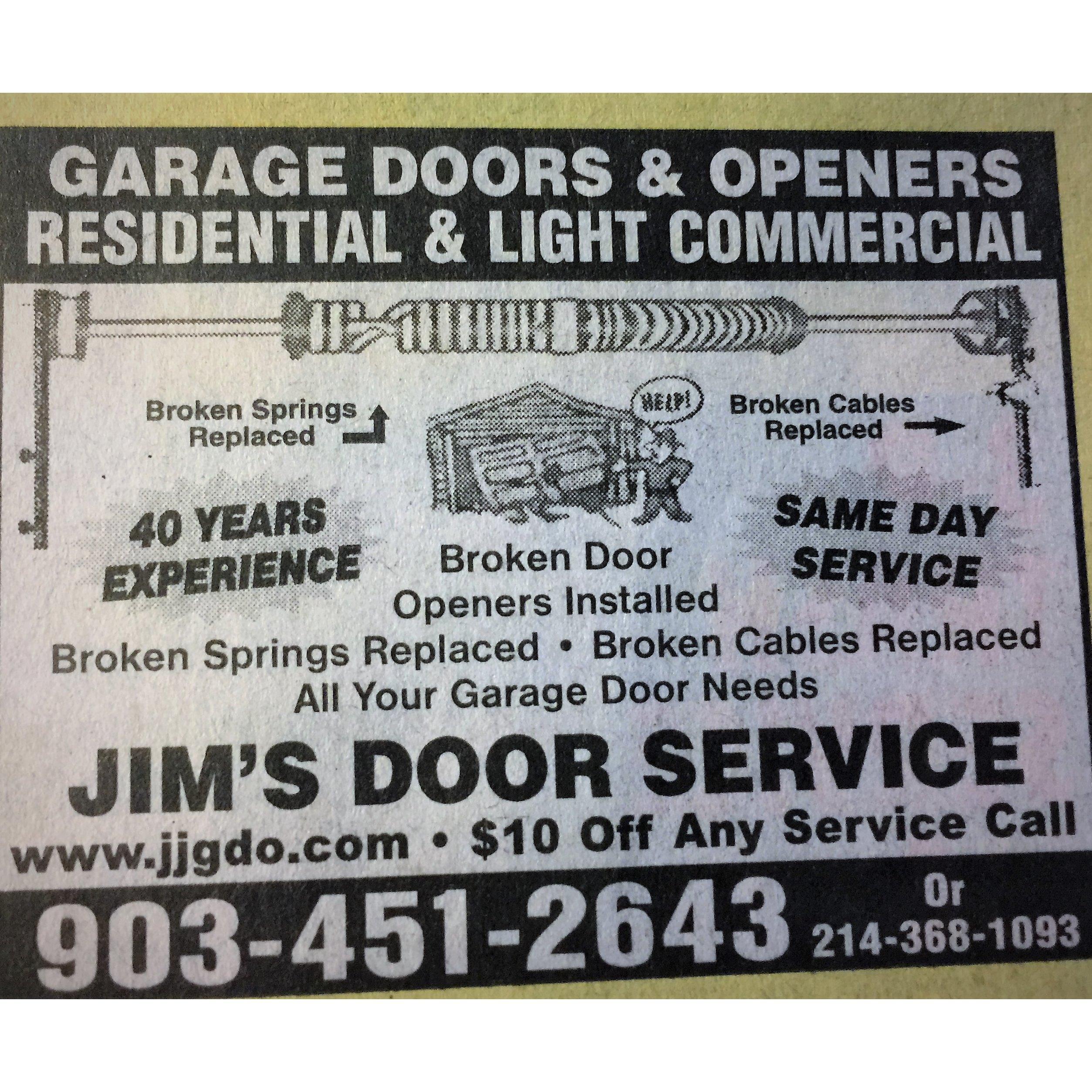 Jims Door Service Mabank Tx 75156 903 451 2643