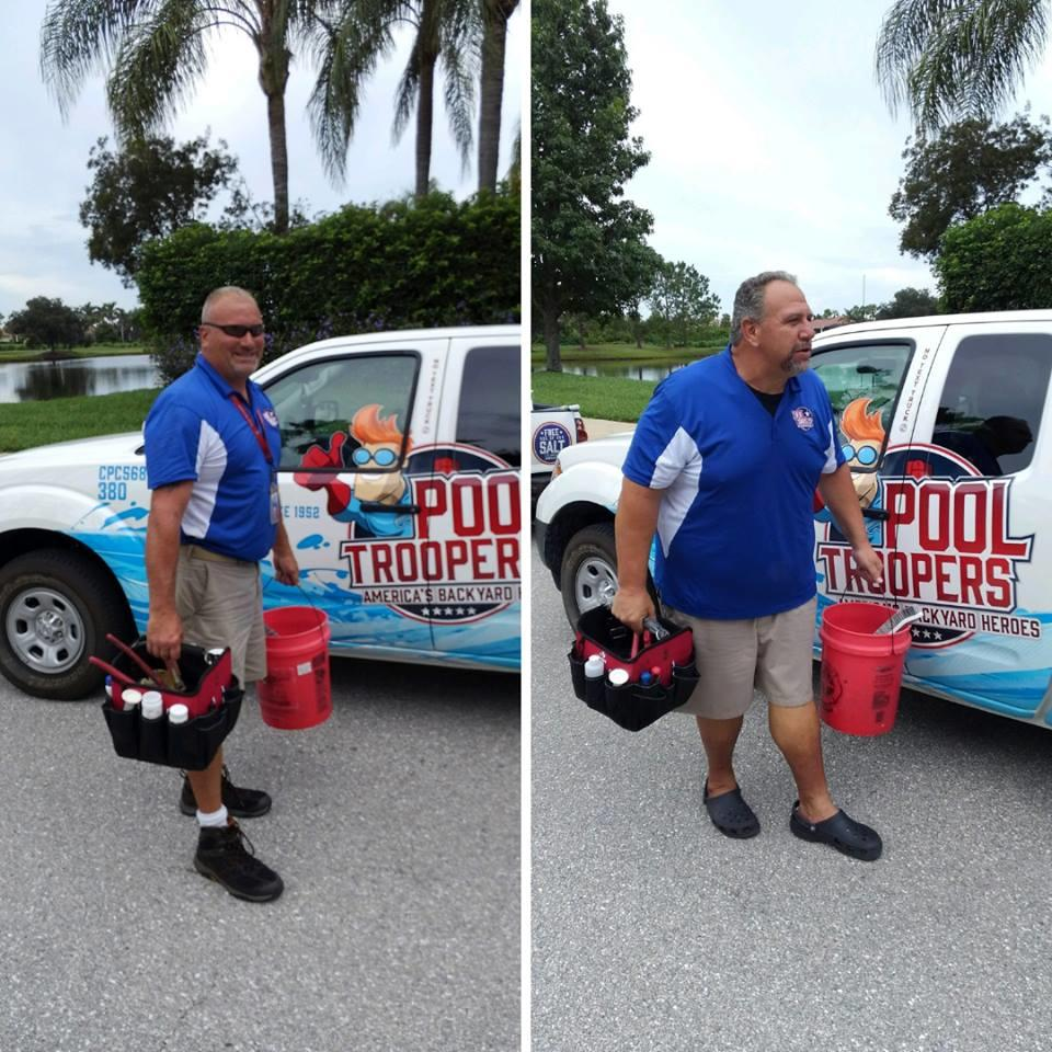 Bay Area Pool Service Technicians on the Job in Sarasota, FL