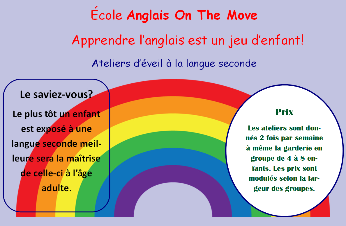 Cours Anglais On The Move à Sherbrooke