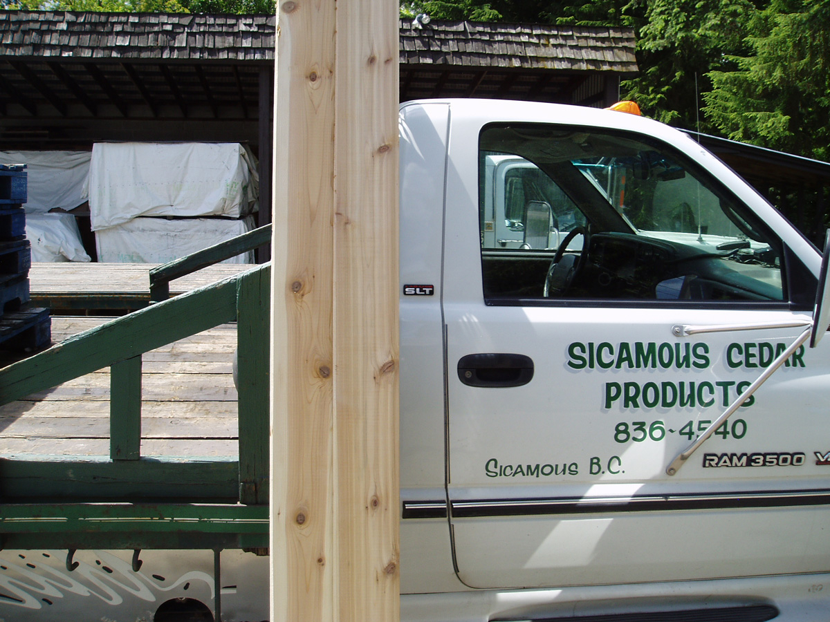 Images Sicamous Cedar Products