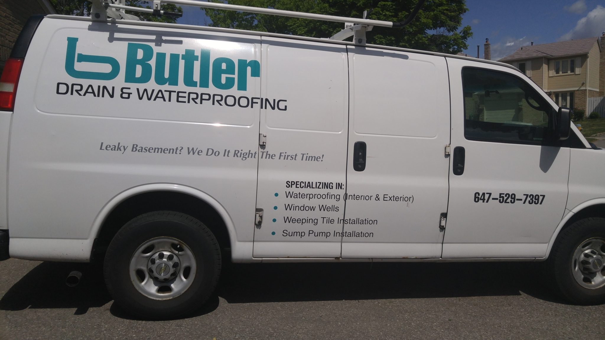Butler Drain & Waterproofing - Scarborough, ON M1B 2Z3 - (647)529-7397 | ShowMeLocal.com