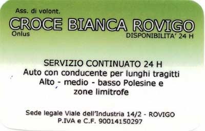Ambulanza Croce Bianca Rovigo