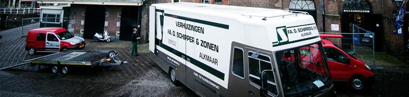 Schipper verhuizingen Alkmaar
