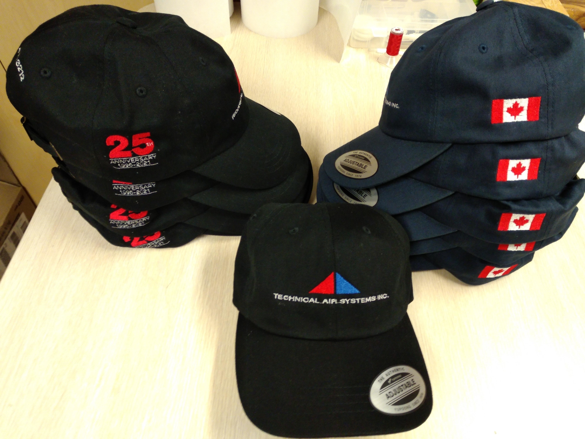 Just My Lids in Scarborough: We provide custom embroidered hats for all types of business or for personal use. We accept volume orders.