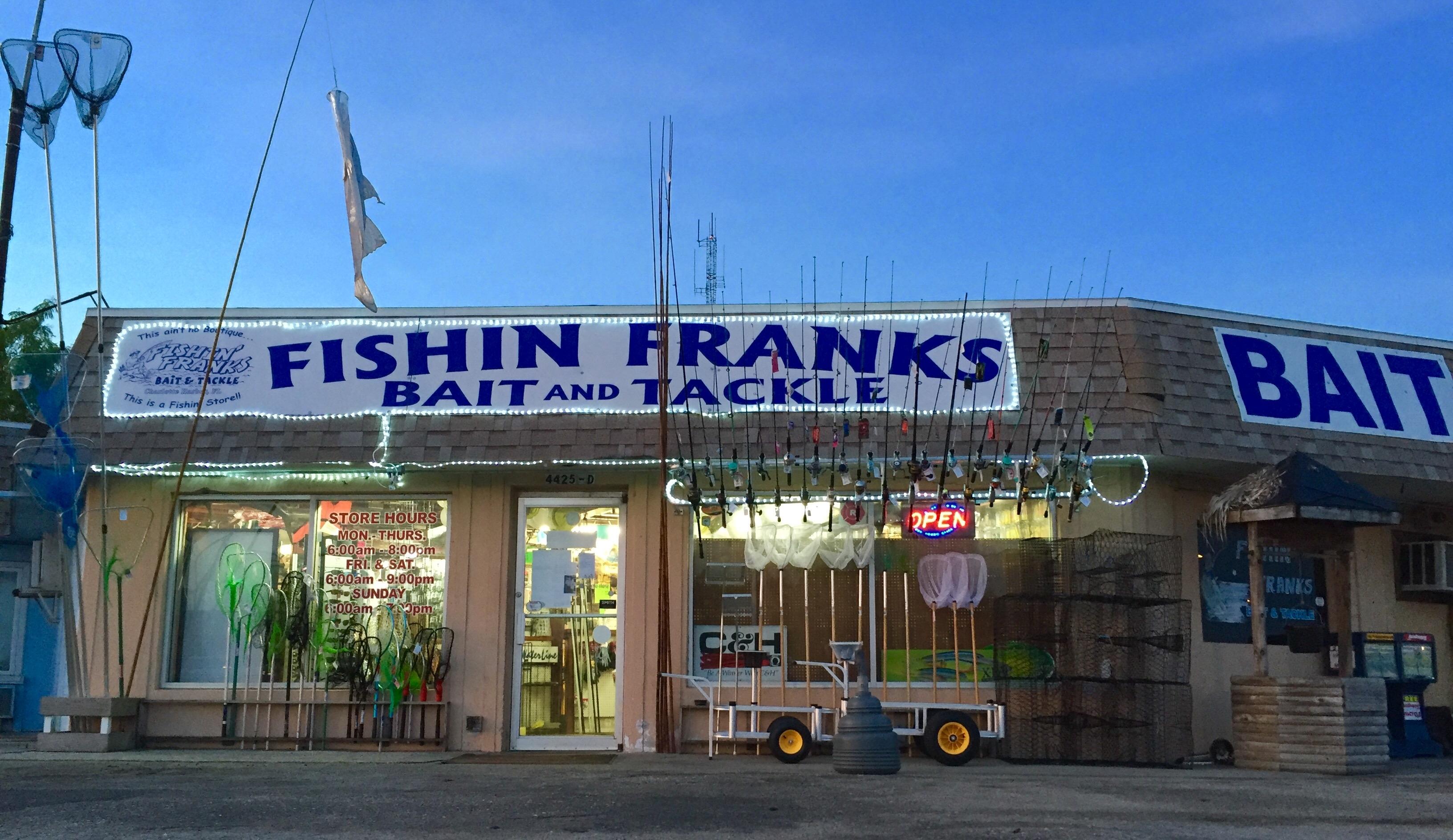 Fishin franks in port charlotte fl 33980 for Port charlotte fishing charters