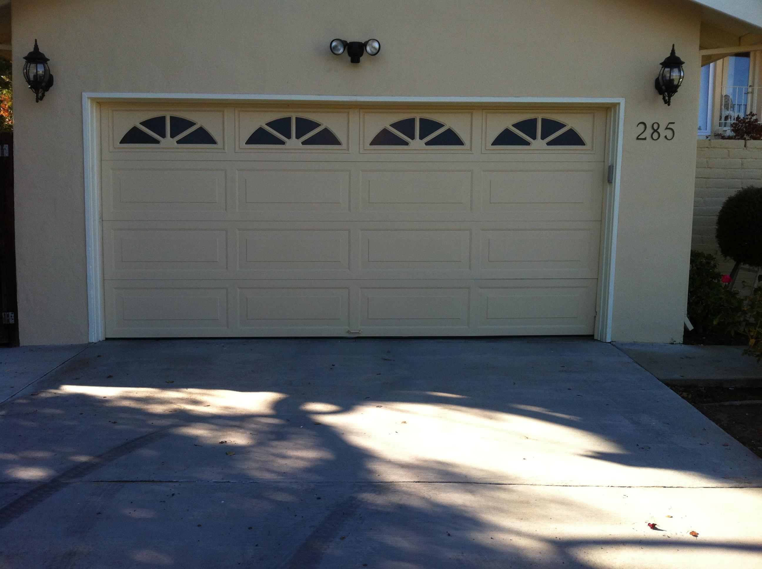 Anthony 39 s garage door service inc for Brentwood garage door