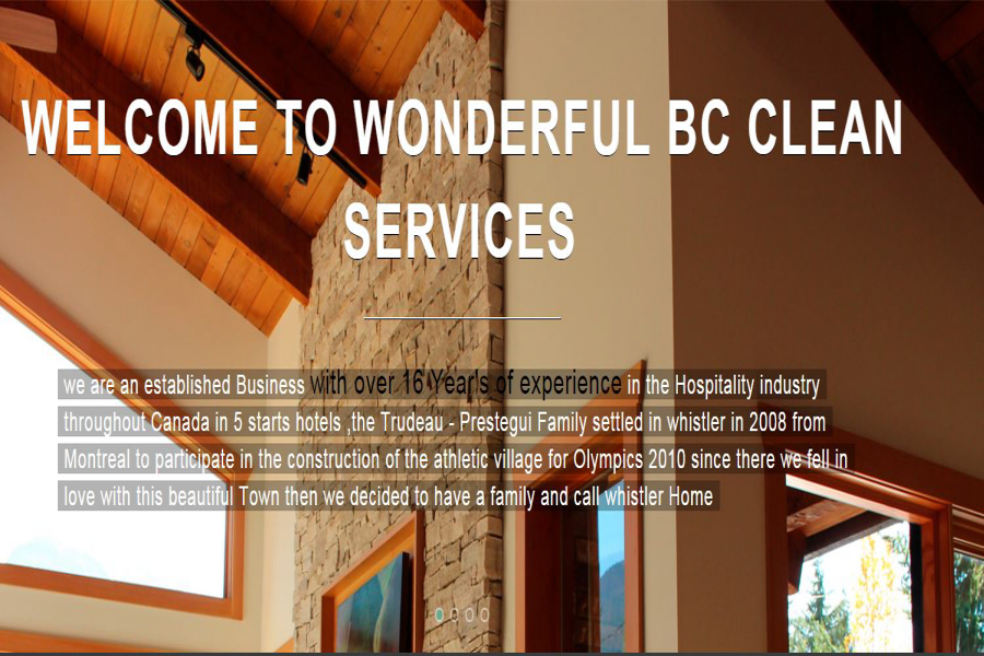 Wonderful BC Clean Services - Whistler, BC V0N 1B9 - (604)906-4142 | ShowMeLocal.com