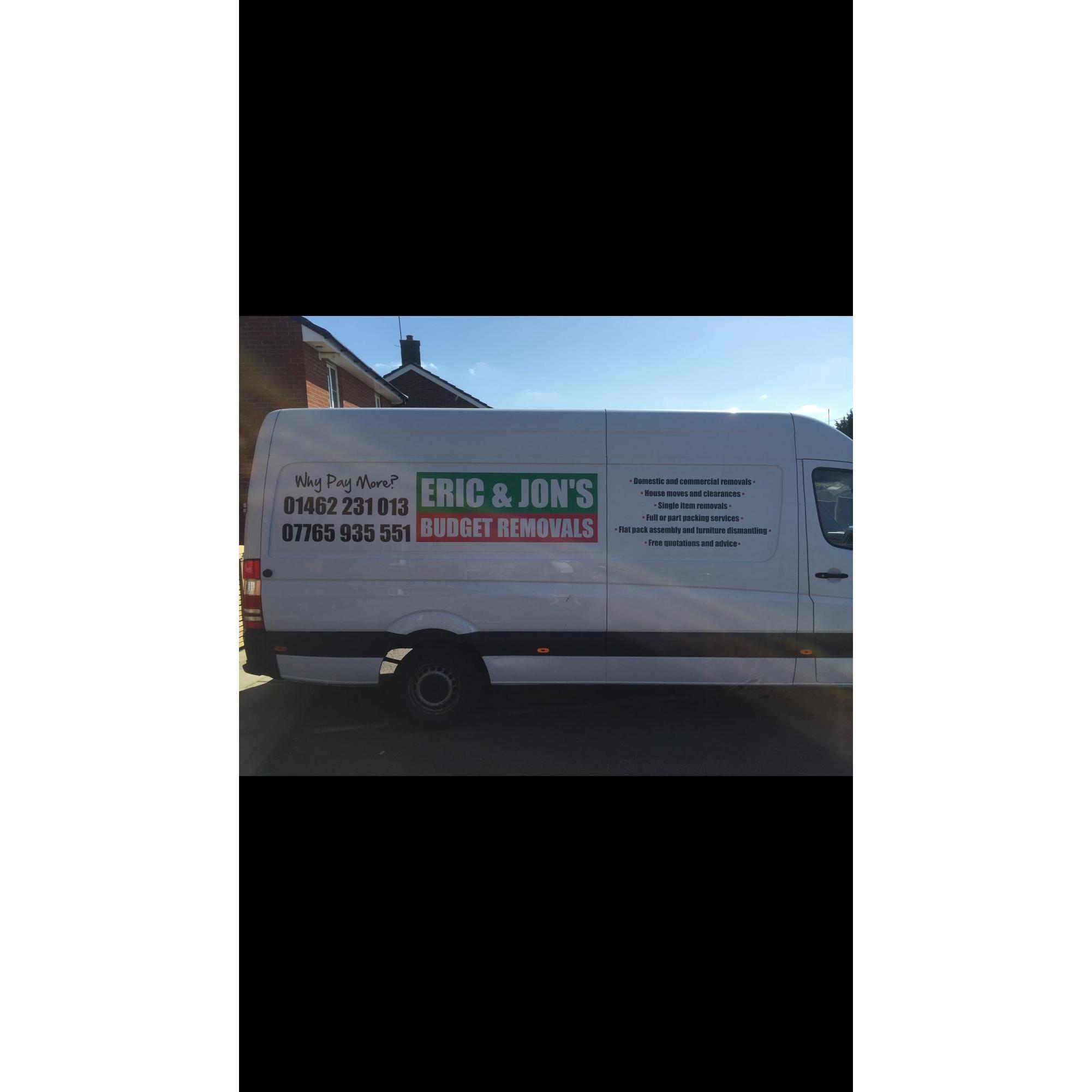 Eric & Jon's Budget Removals & Storage - Shefford, Bedfordshire SG17 5JP - 01462 231013 | ShowMeLocal.com