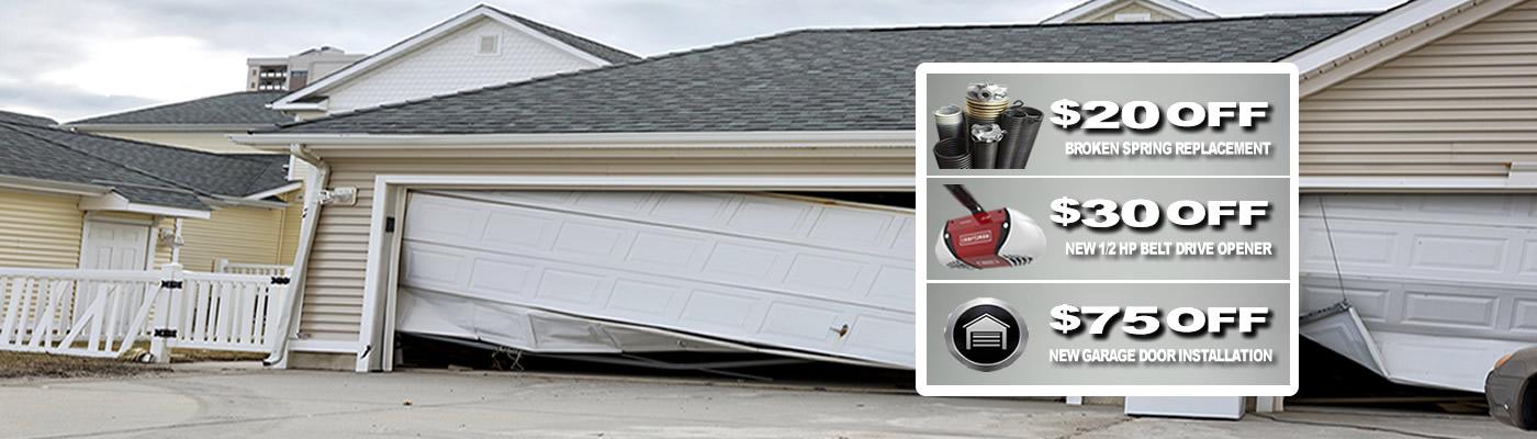 M a garage door repair coupons near me in centennial for Garage door repair lakewood