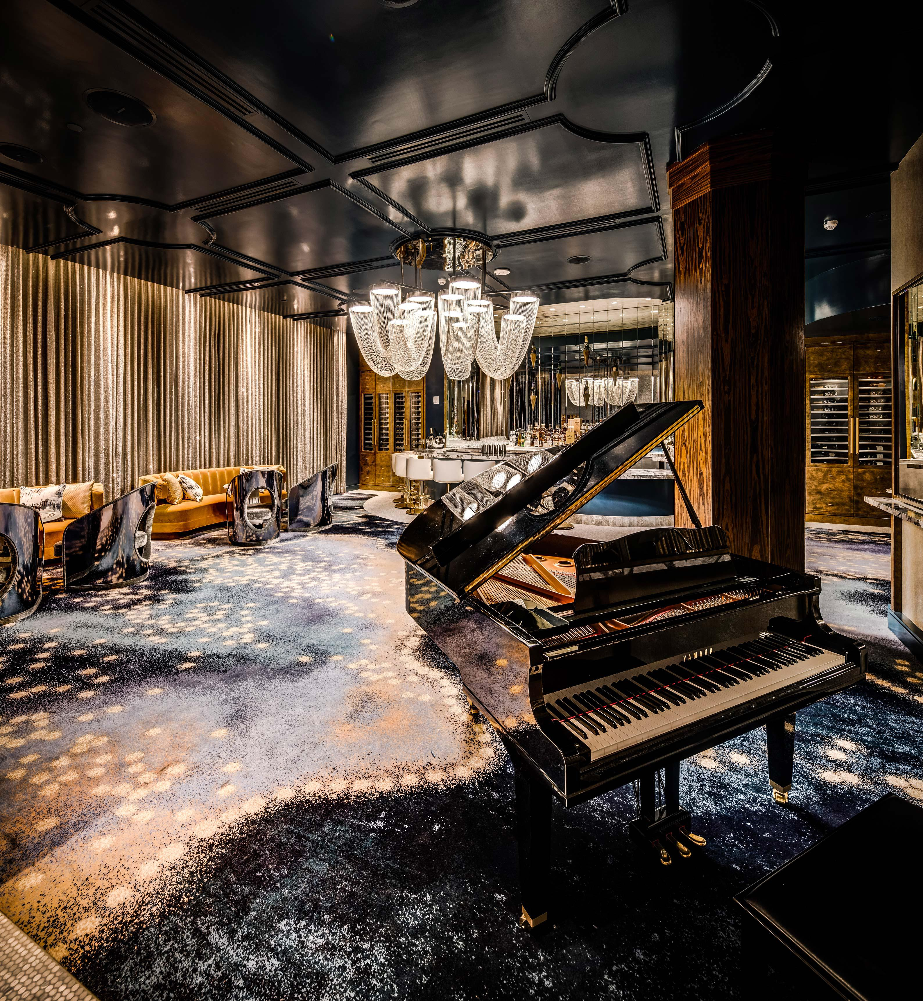 Del Frisco's Double Eagle Steakhouse Los Angeles The Edith Room private dining room