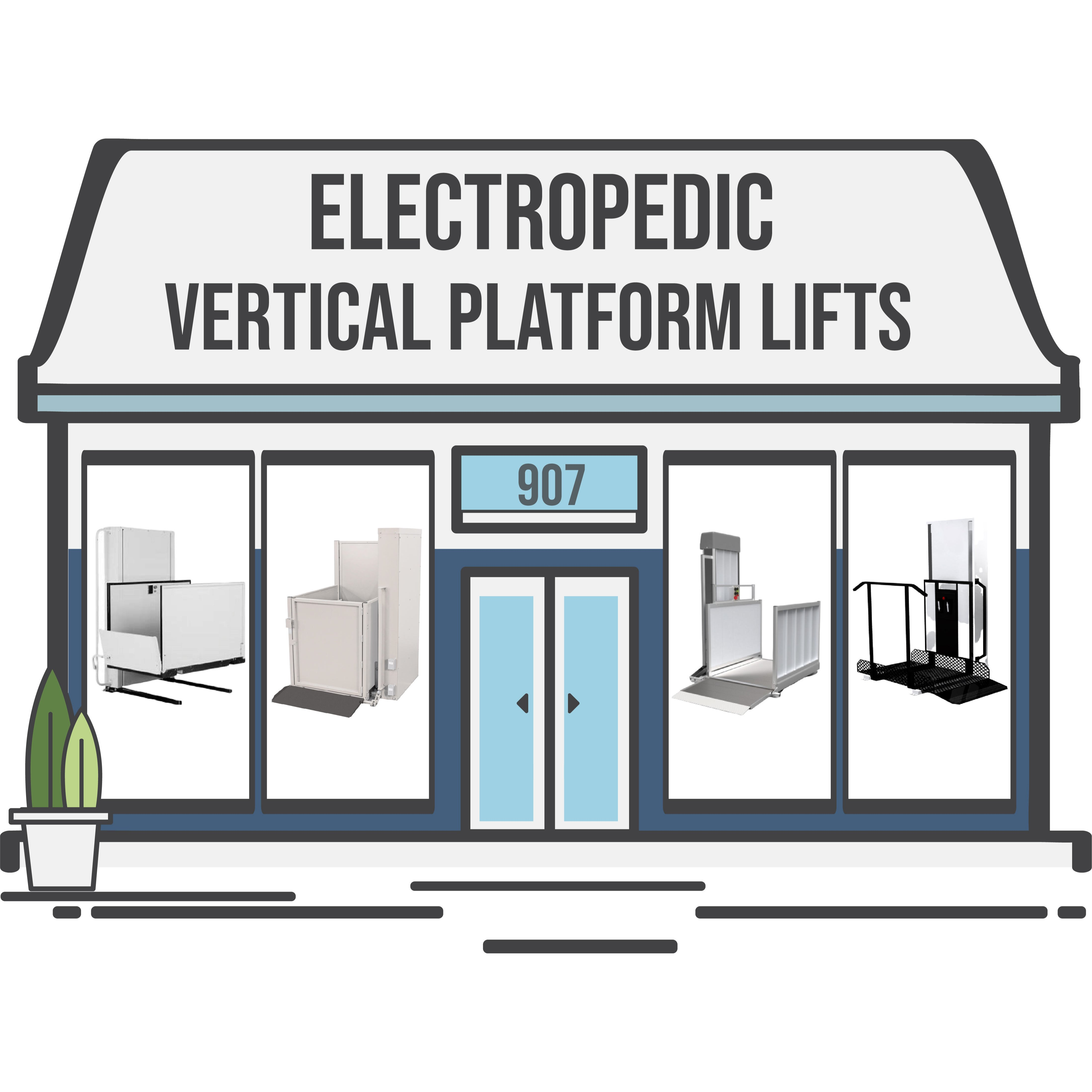 Electropedic Vertical Platform Lifts