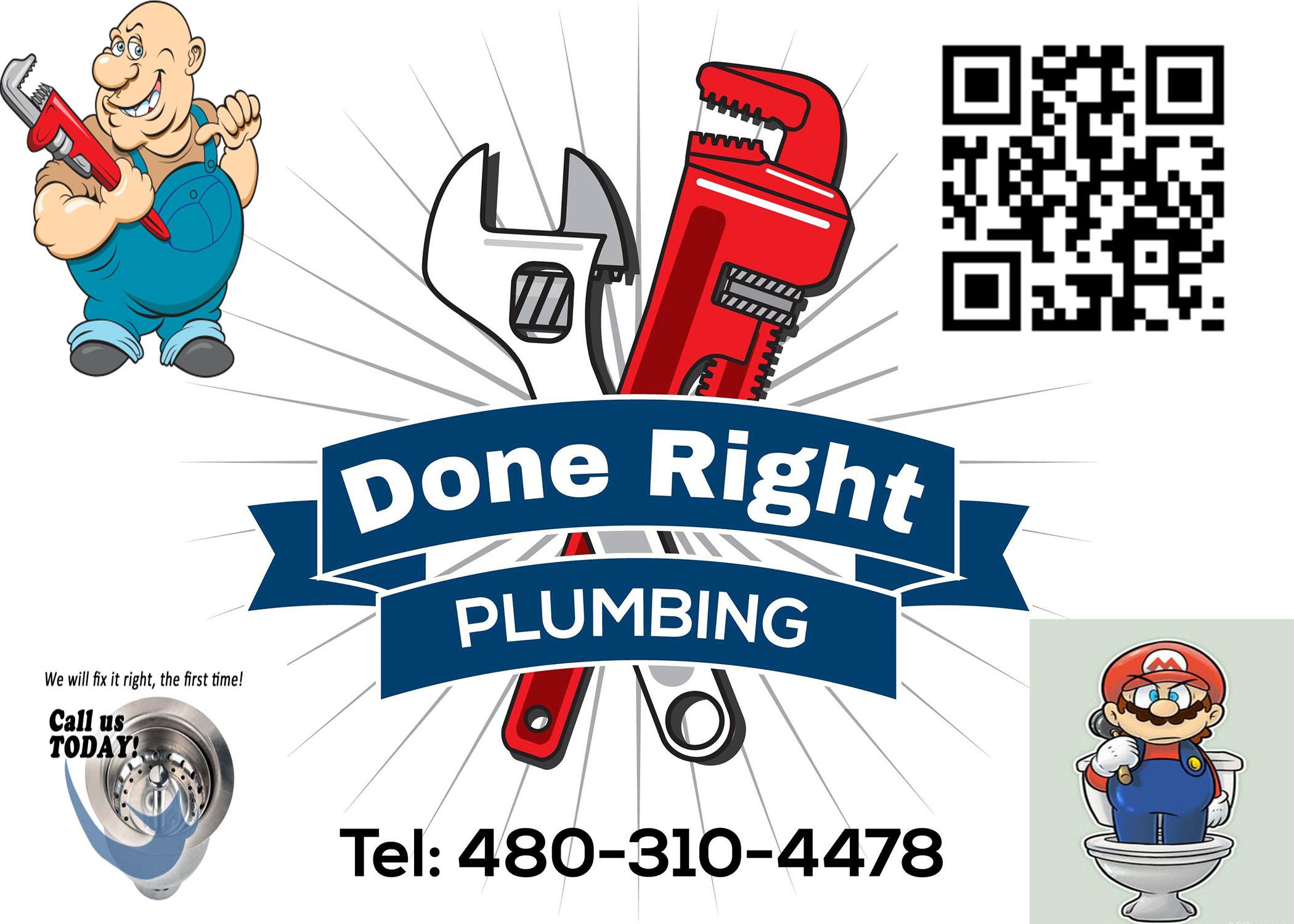 Done Right Plumbing In Mesa AZ 85210