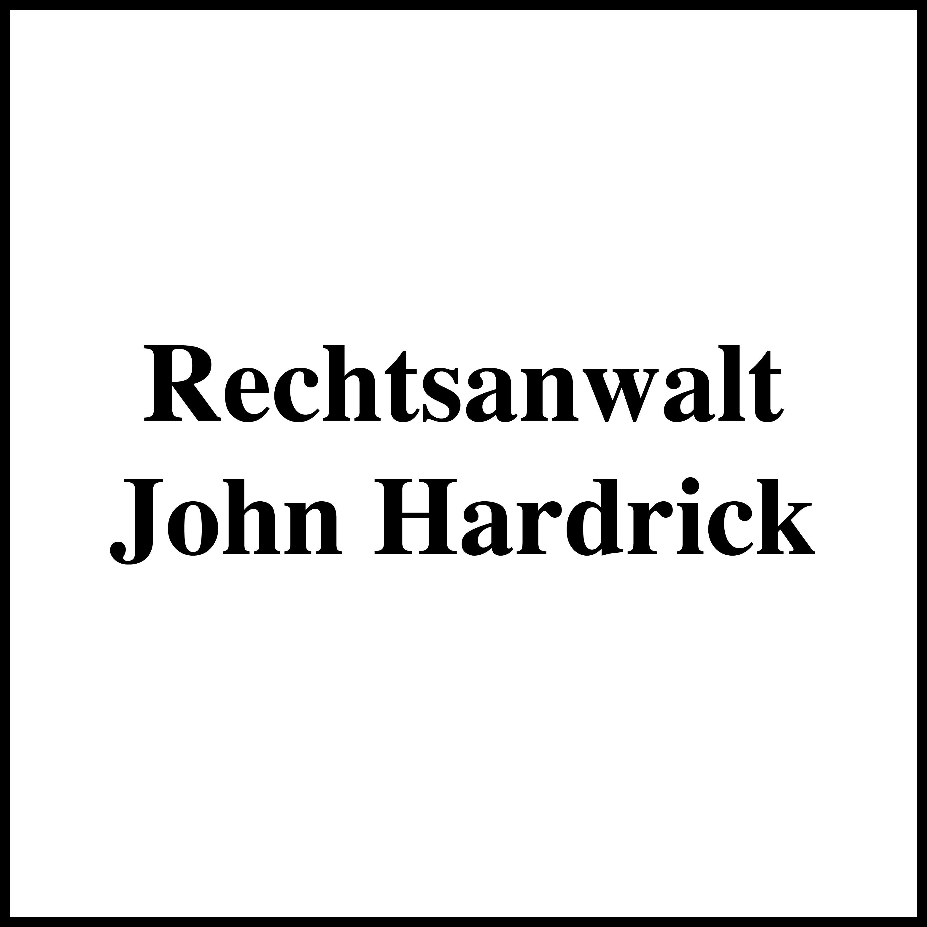 Bild zu Rechtsanwalt John Hardrick in Rodgau