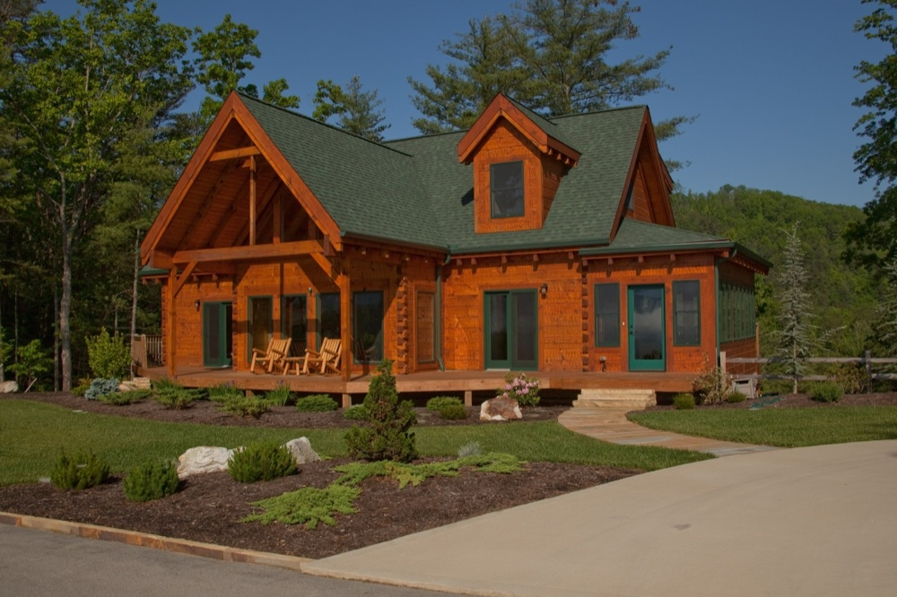 Custom Timber Log Homes image 14
