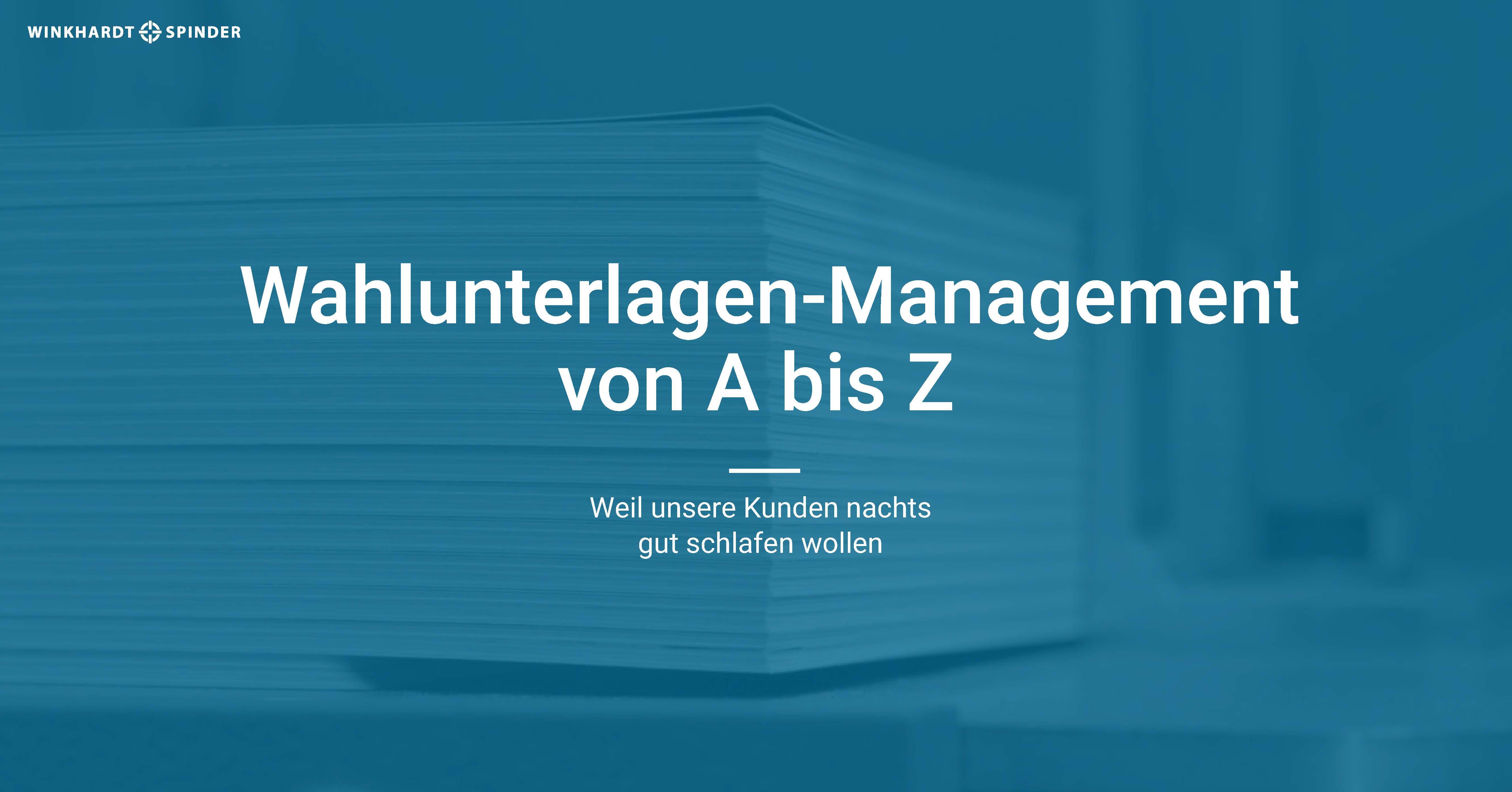 Winkhardt + Spinder GmbH & Co. KG