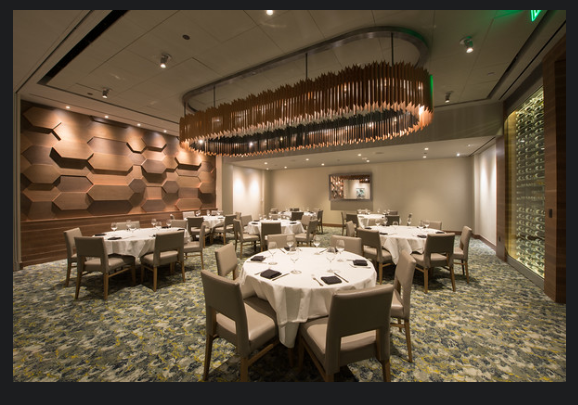 Del Frisco's Double Eagle Steakhouse Boston Huntington Room private dining room