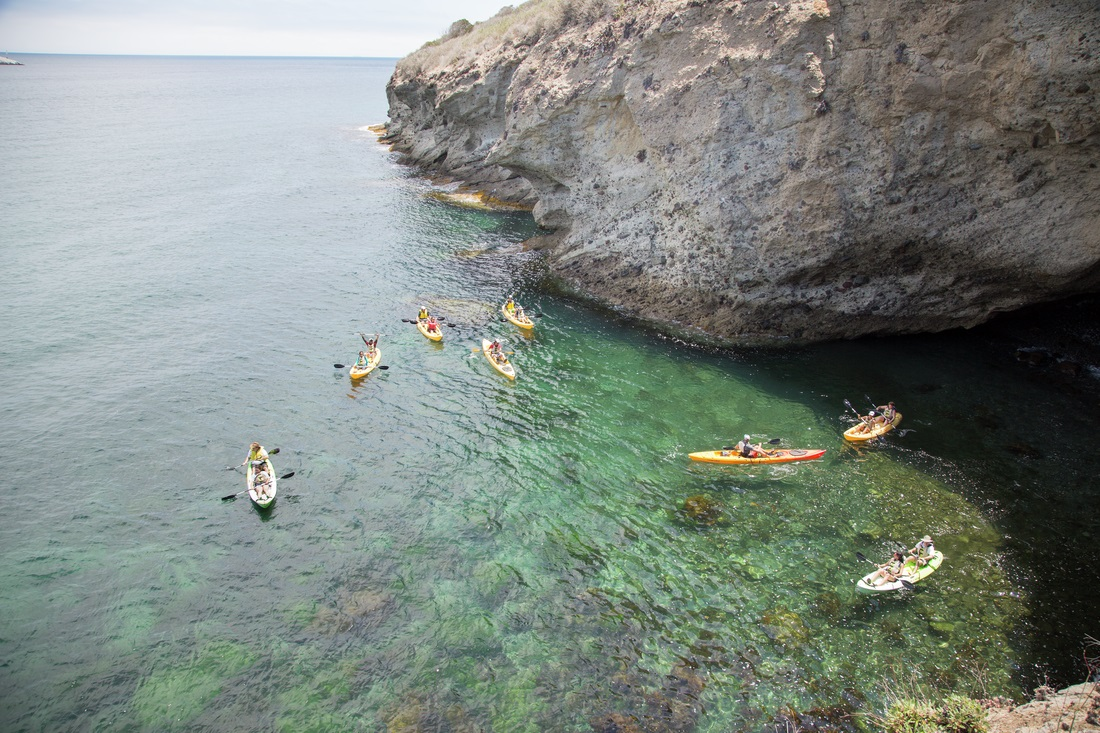 Yoga & Kayaking on Catalina Island
