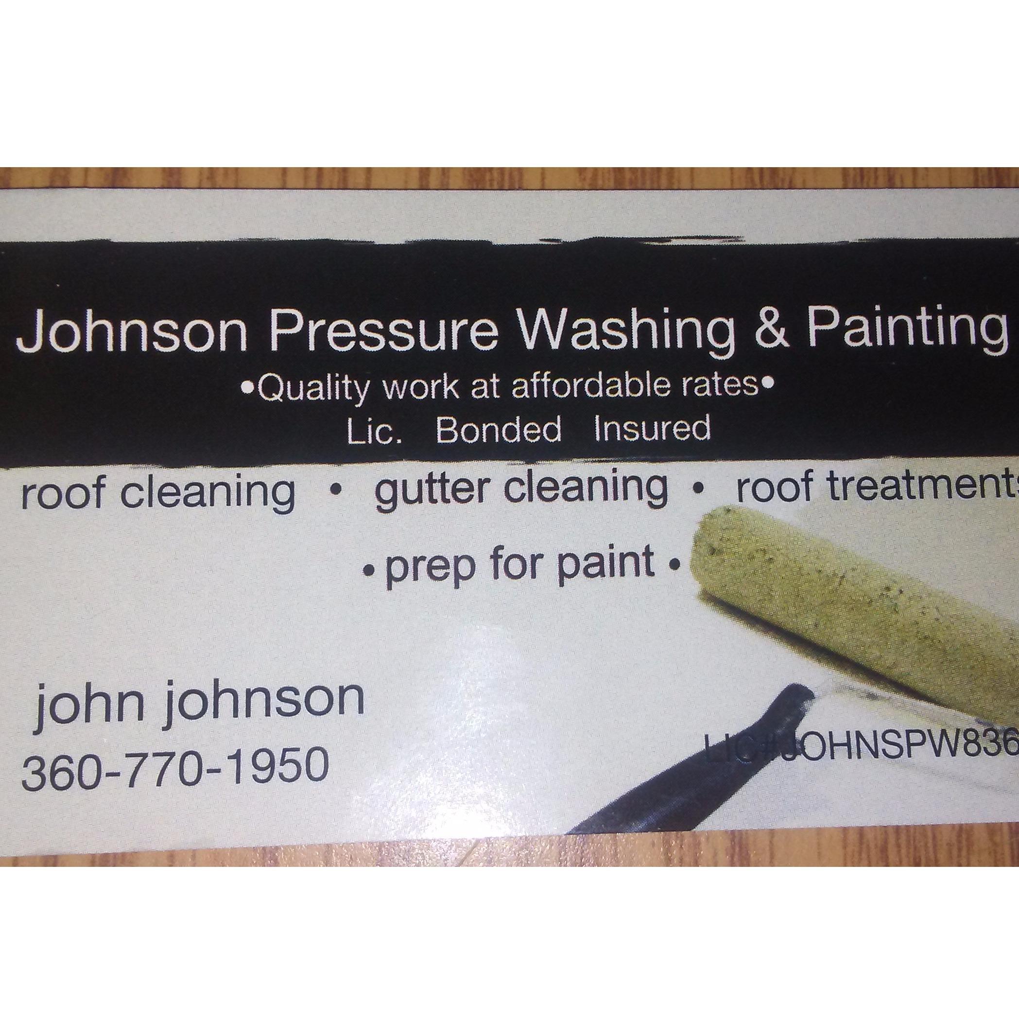 Johnson Pressure Washing & Painting