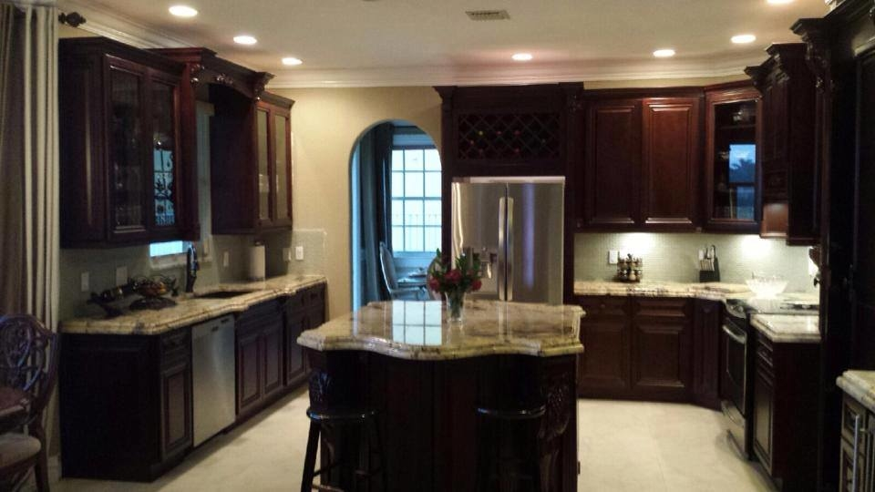 King of kitchen and granite pompano beach pompano beach - Kitchen cabinets west palm beach ...