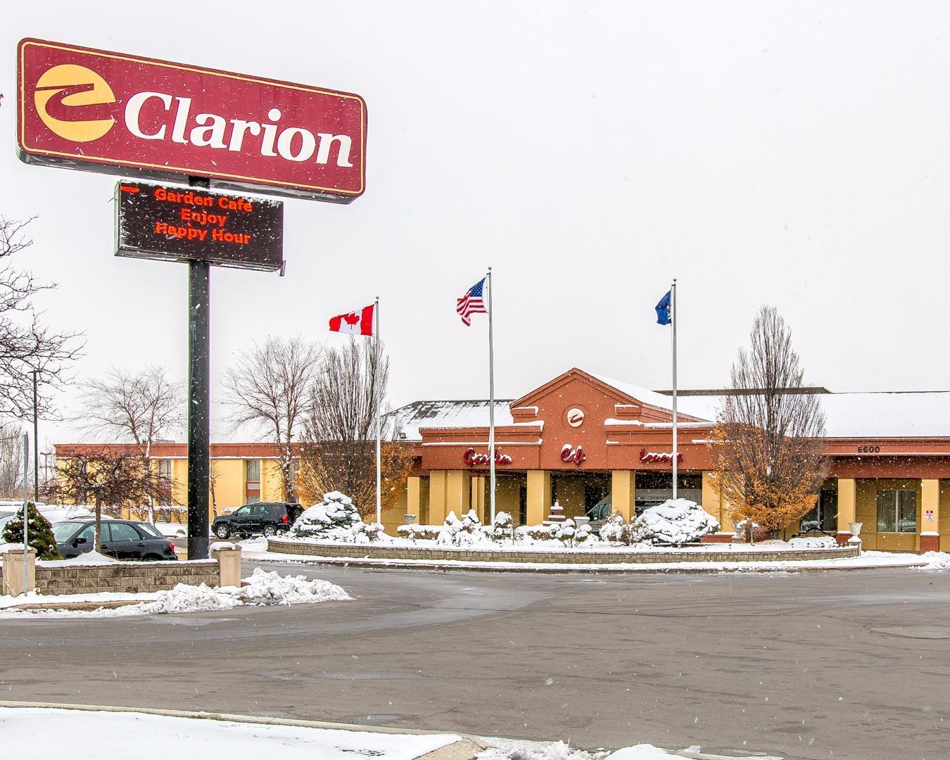 Clarion Hotel Near Detroit Metro Airport
