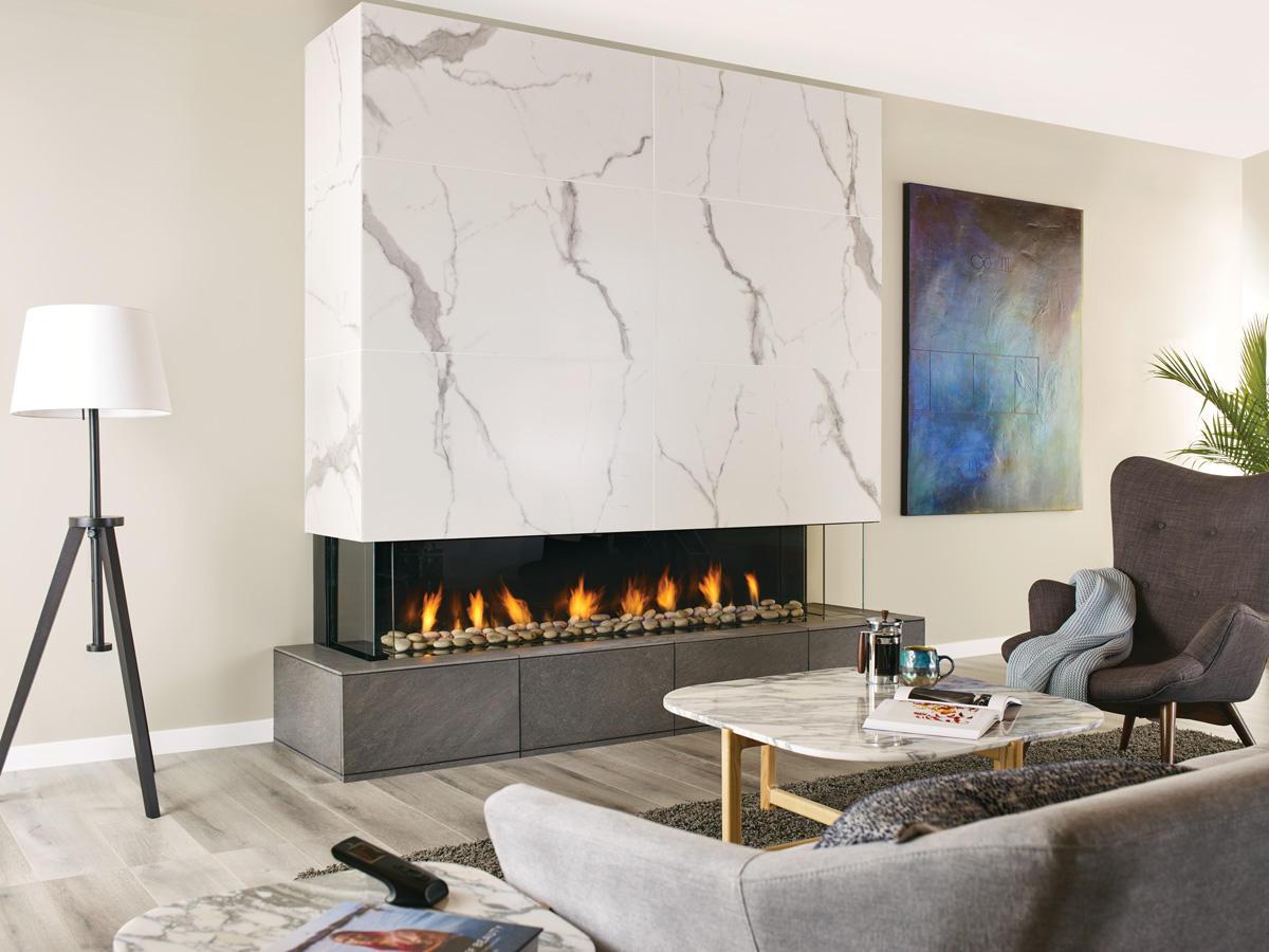 Fireplace Gallery in Edmonton: Regency City Series San Francisco Bay 72 Designer Gas Fireplace