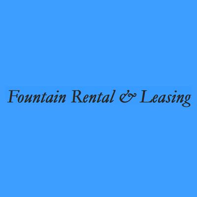 Fountain Truck Rental