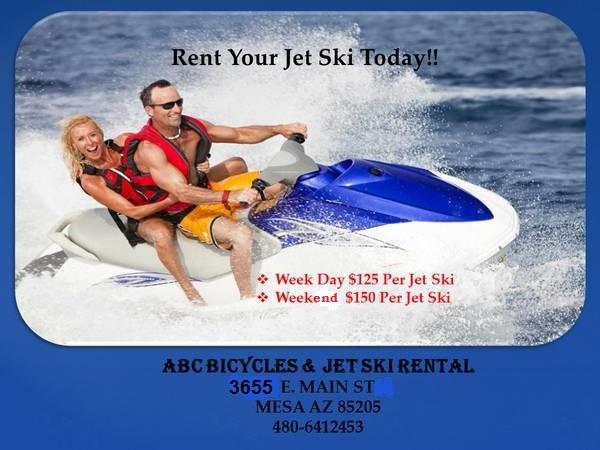 ABC Bicycles and Jet Ski Rental