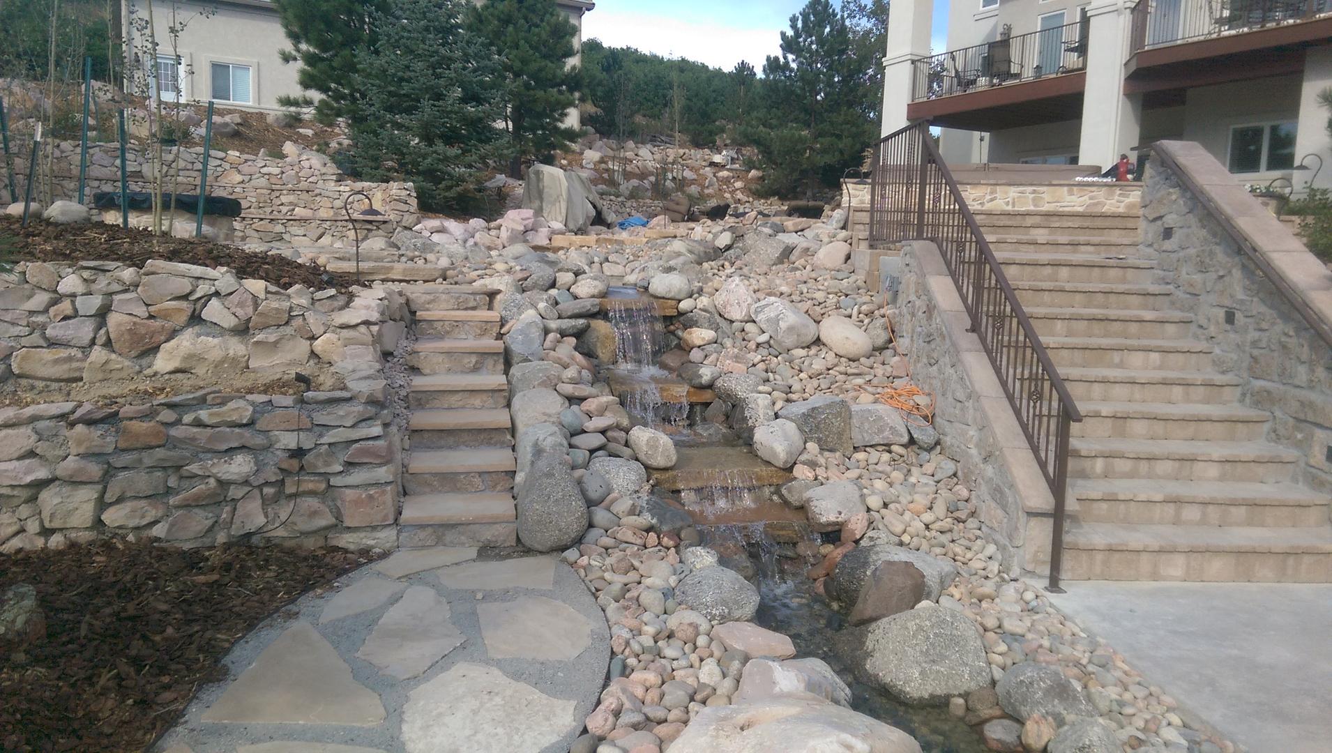 Colorado creative landscapes in colorado springs co 80922 for Creative landscapes