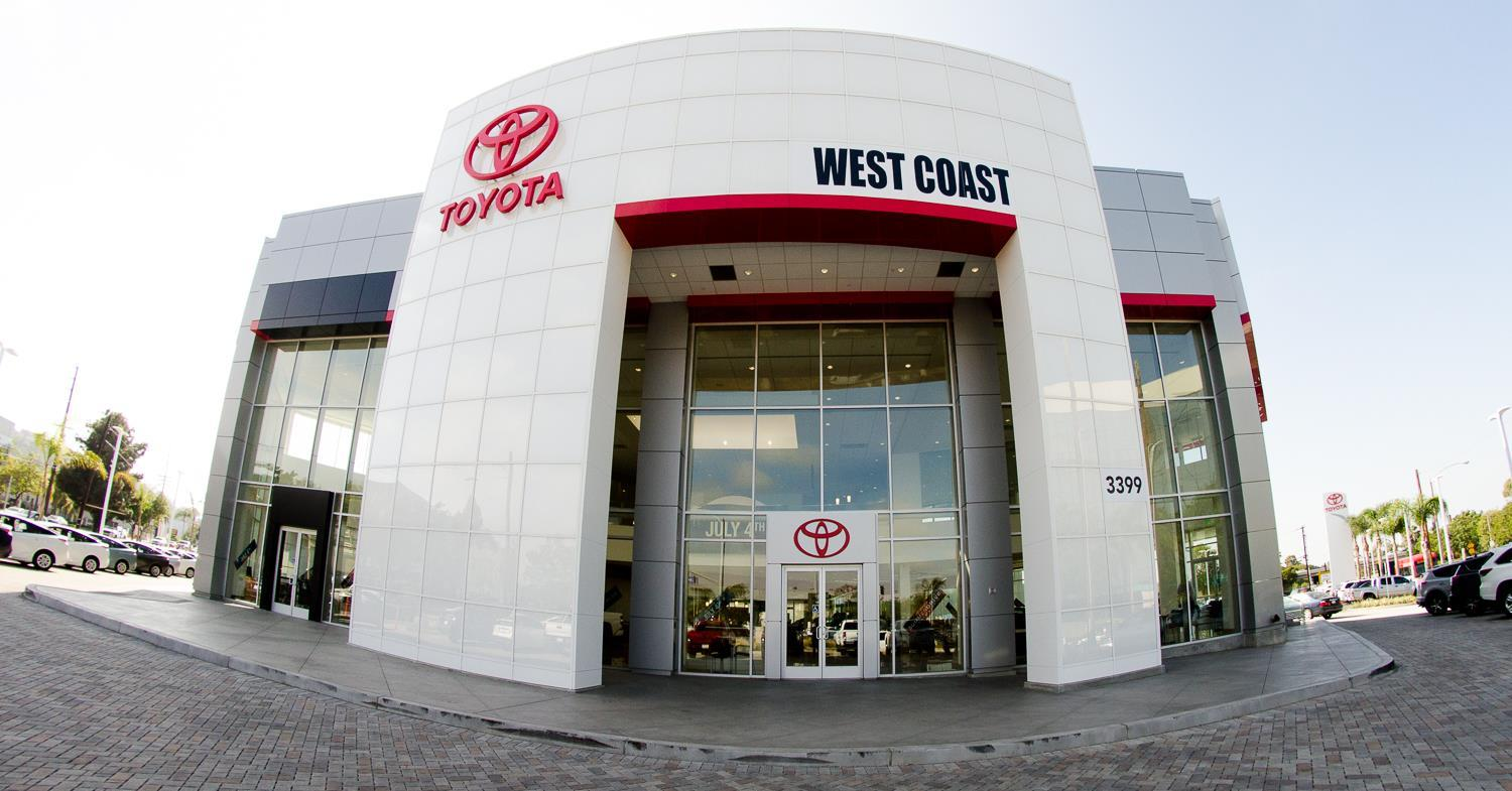 West Coast Toyota Long Beach California Ca
