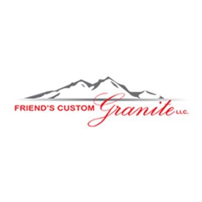 Friend's Custom Granite Logo