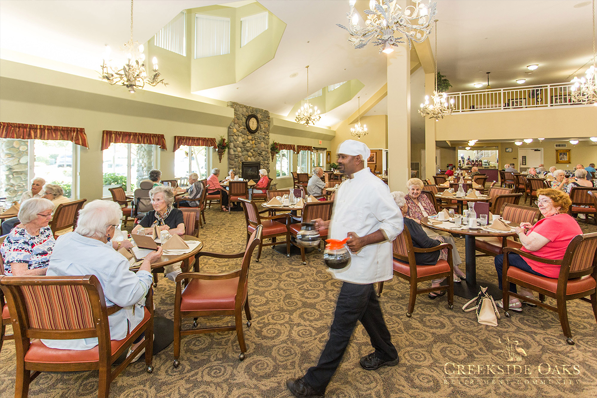 Creekside Oaks Retirement Community Folsom California Ca