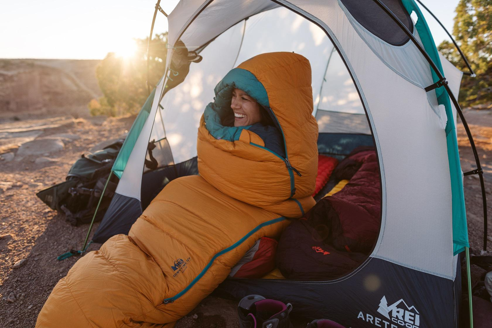Women's Backcountry Tents and Sleep Systems Workshop