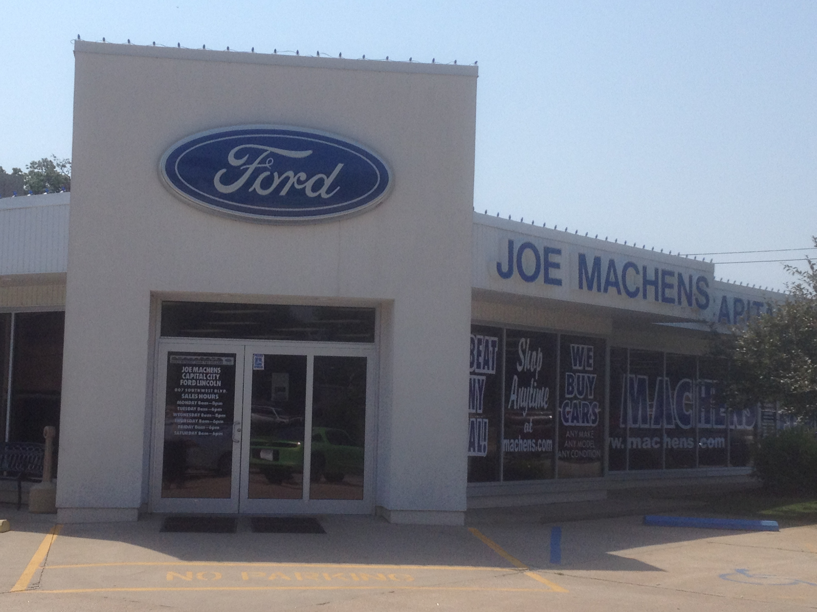 Joe Machens Capital City Ford Lincoln In Jefferson City