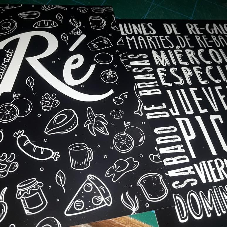 RESTAURANTE RÉ- CAFETERIA- HELADERIA- DELIVERY
