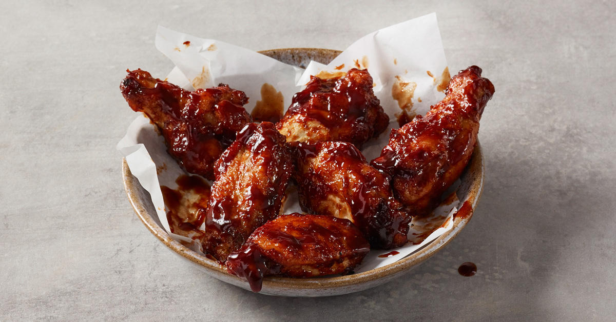Papa John's BBQ Chicken Wings Papa John's Pizza Burnley 01282 430033