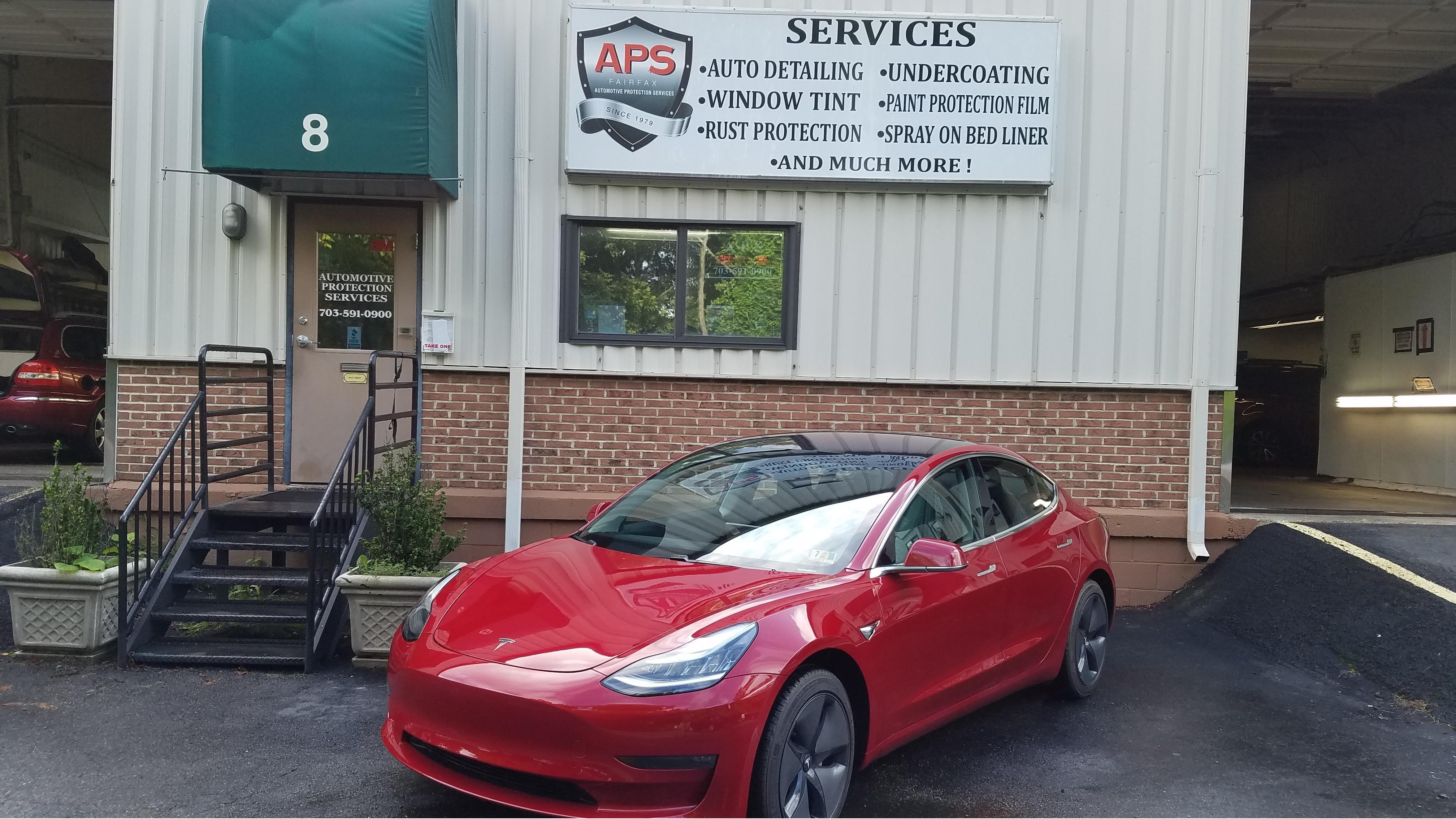 Automotive Protection Services Fairfax Virginia Va