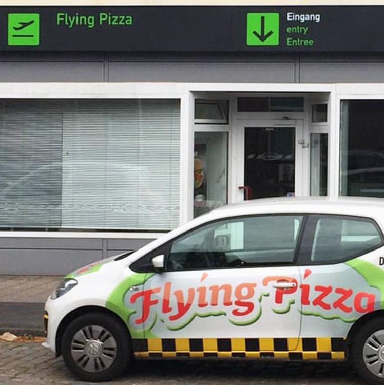 Bild der Flying Pizza