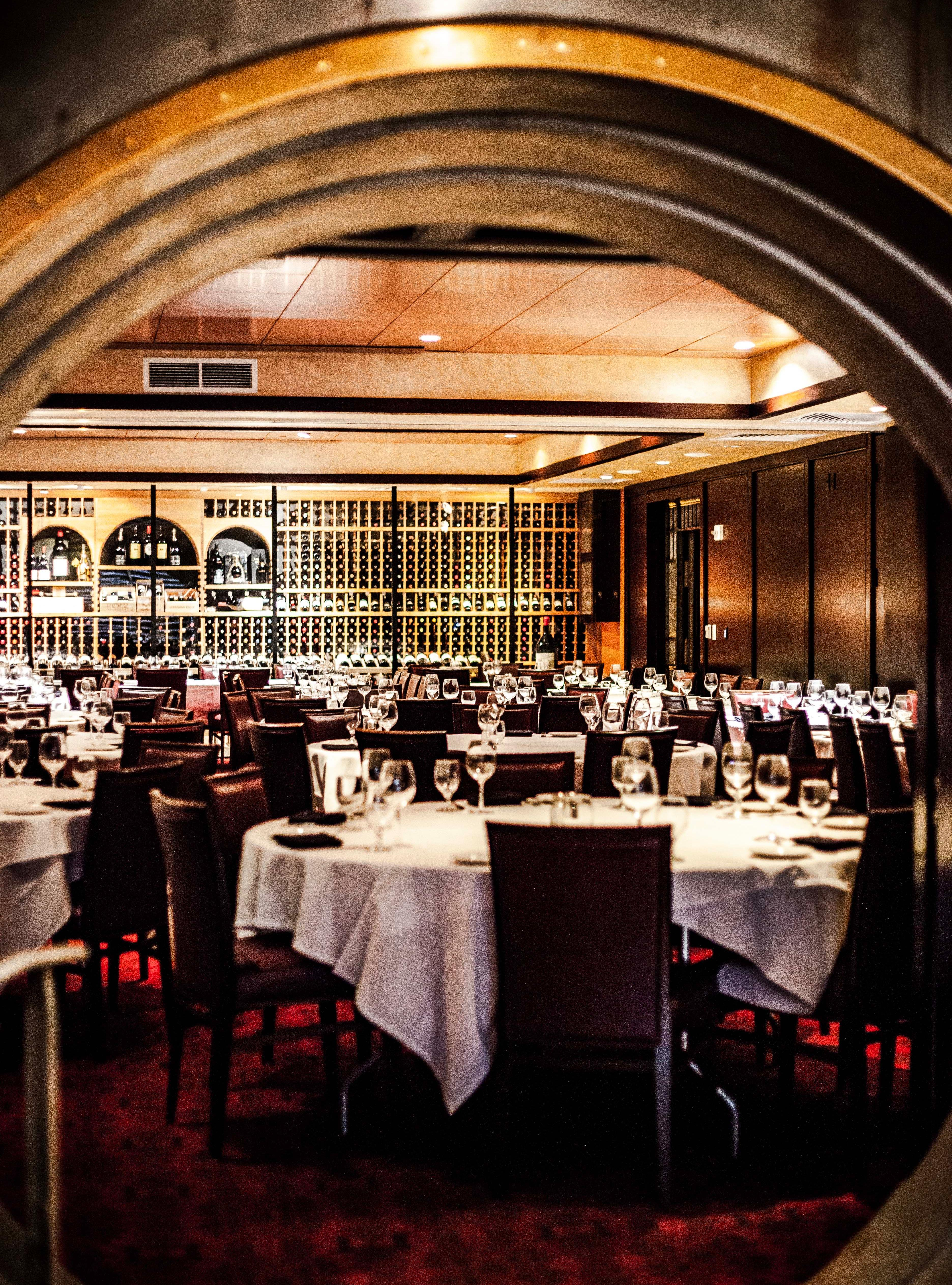 Del Frisco's Double Eagle Steakhouse Philadelphia Vault 1 private dining room